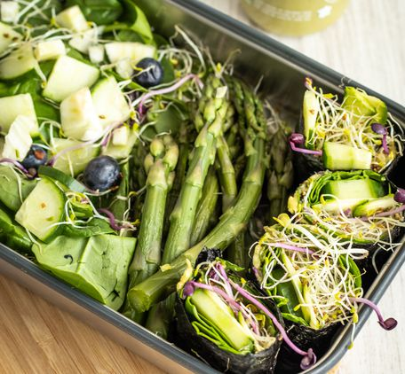 Recette healthy – La green lunch box du printemps