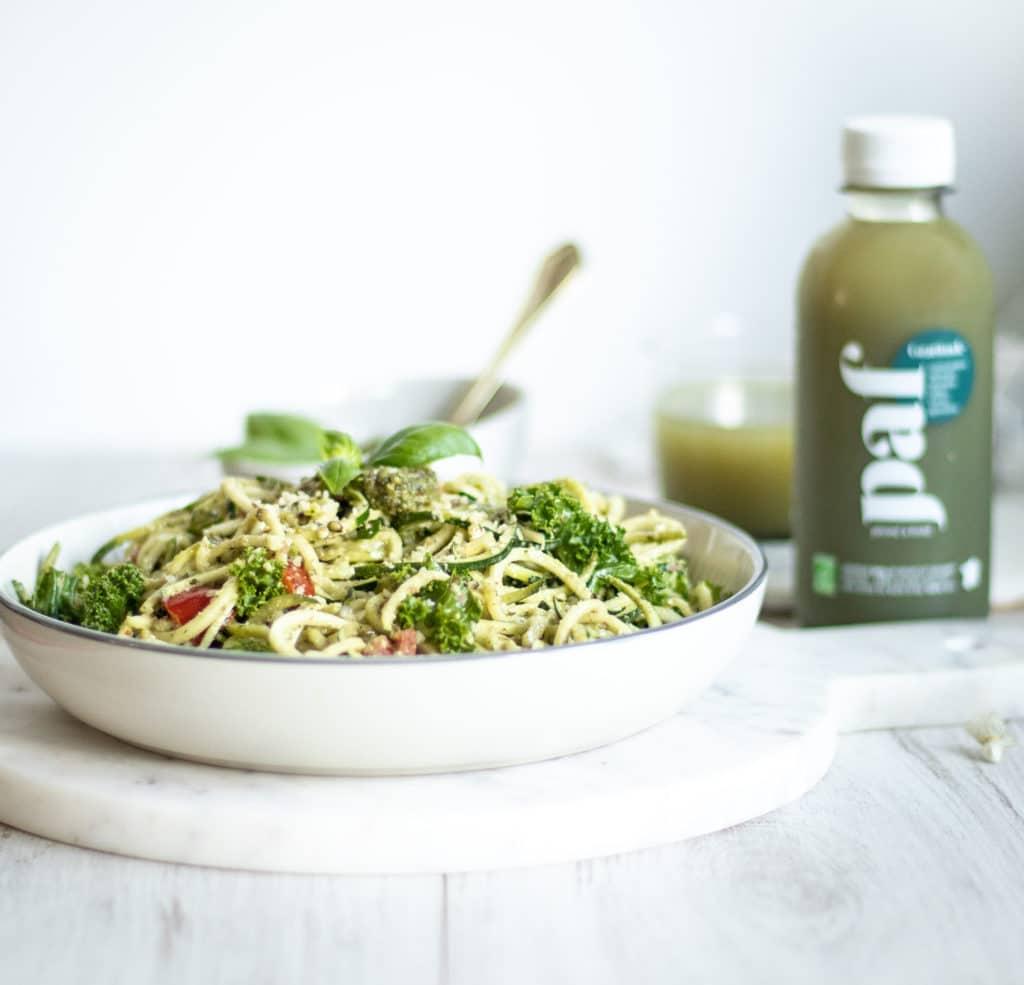 Spaghettis de courgettes - Recette healthy les jus PAF