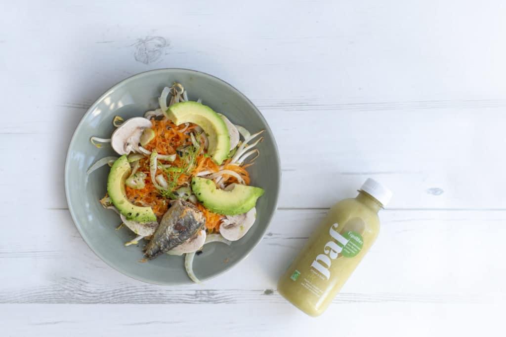 Notre Superfood Salade contient des ingrédients BIO et éco-responsables.